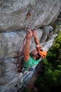 "Rock Climbing Photo: Dillon on ""Drunk Punk Oi"""