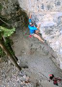 "Rock Climbing Photo: Dono on ""Top Shelf"""