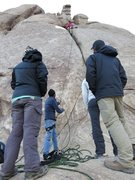 Rock Climbing Photo: friends from fpgm climbing day in shey rock ladakh...