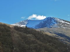 Rock Climbing Photo: Brown Cove on Helvellyn Mt Cumbria Some winter cli...