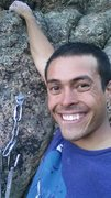 Rock Climbing Photo: on top of Mike in the Fast Lane at urban alpine cr...