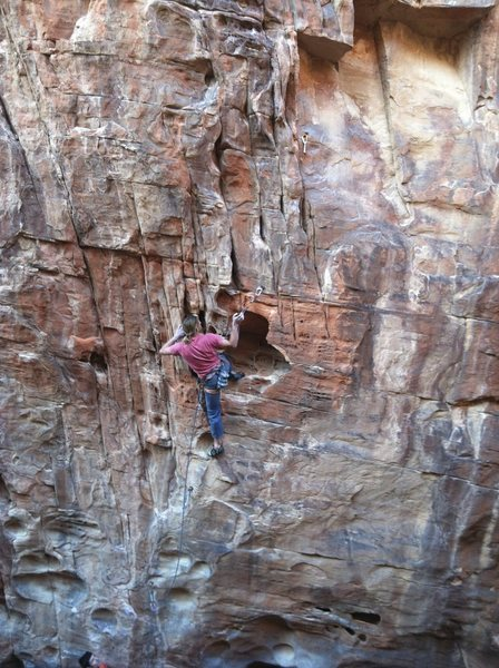 Rock Climbing Photo: Lost and Found 5. 12b