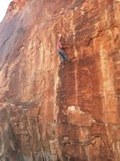 Rock Climbing Photo: Spencer McCroskey on the first ascent of Lost.
