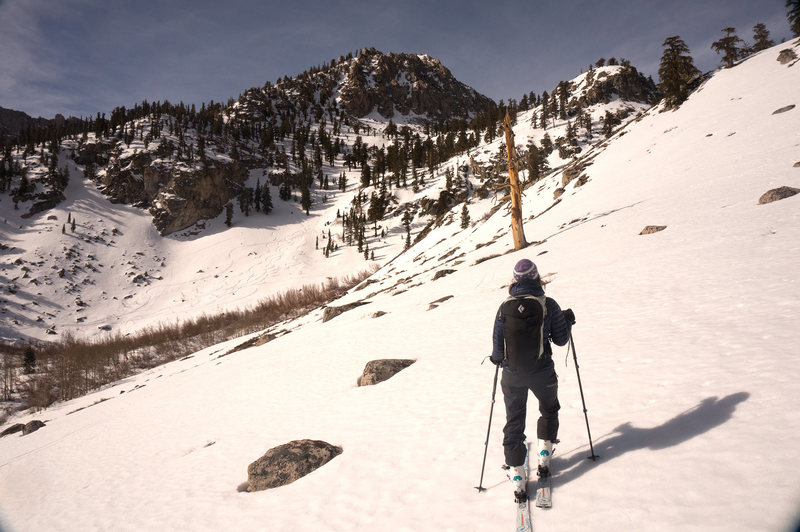 Rock Climbing Photo: Onion Valley in winter.