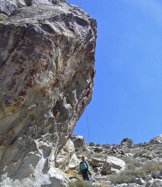 Rock Climbing Photo: Rickless....abandoned.  Would be a nice first asce...