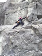Rock Climbing Photo: Sophie on Sophie