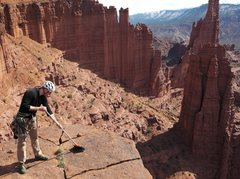 "Rock Climbing Photo: Someone is taking the term ""clean climbing&qu..."