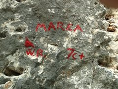 Rock Climbing Photo: You can find Marea wall when you see this descript...
