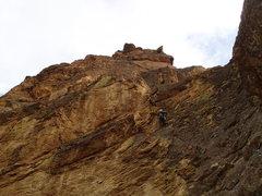 Rock Climbing Photo: Pitch 4 on First Kiss
