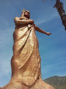 Rock Climbing Photo: Statue in Waterman Canyon, San Bernardino Mountain...