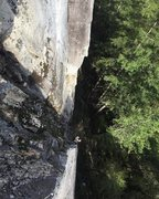 Rock Climbing Photo: Shot taken from pitch 2 anchors