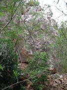 Rock Climbing Photo: Impero Romano Boulder