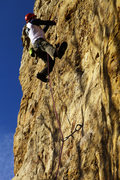 Rock Climbing Photo: sport leading on Jump start at Redwing