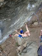 Rock Climbing Photo: Mellow till the crux