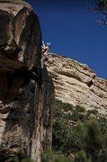 Rock Climbing Photo: Big air below on the Kraken