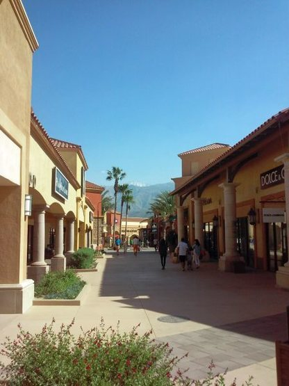 Mt. San Jacinto from the Cabazon Outlets, Cabazon Pass