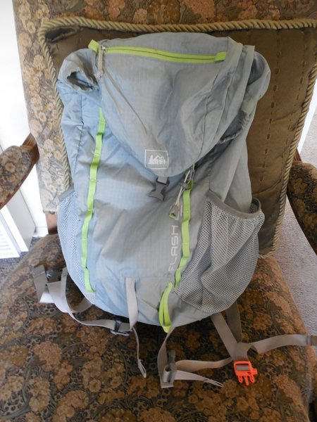 REI Flash 22 pack. $15.00