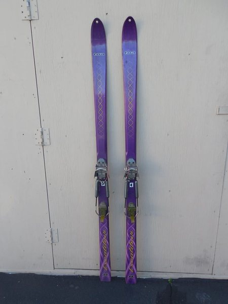 Black Diamond Tua skis w/ BD AT bindings,180's   good shape   $35.00<br>
