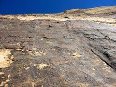 Rock Climbing Photo: Pitch 4 of Eagle Dance.