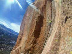 Rock Climbing Photo: Wunsch's Dihedral