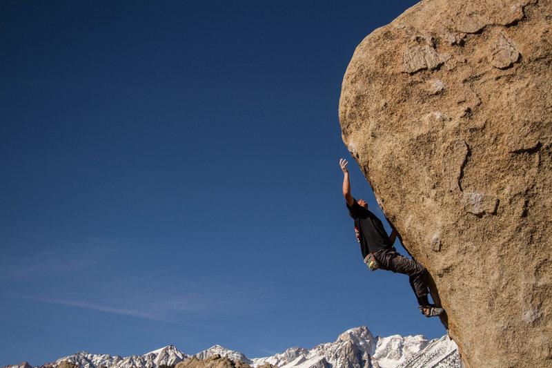 Rock Climbing Photo: Elijah Forbes on Saigon Direct
