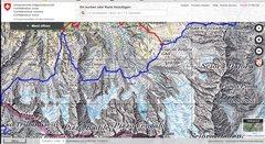 Rock Climbing Photo: Piz Badile 3305m, Sciora Dafora 3169; Bergell; +tr...