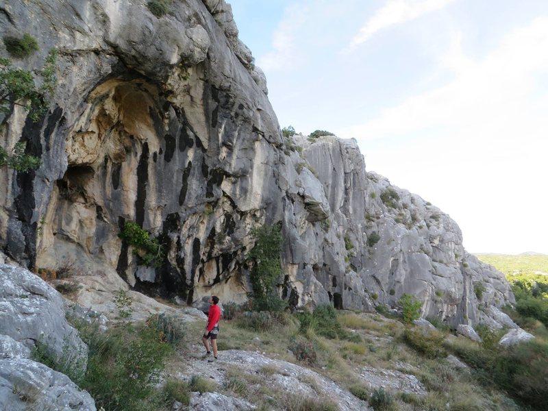 Rock Climbing Photo: Croatia