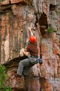 Rock Climbing Photo: the lower section of acute corner, fun dyno to sta...