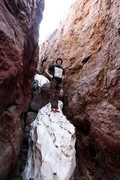 Rock Climbing Photo: The snow behind the prairie wall buttress can hang...