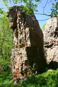 Rock Climbing Photo: North side of Sundrop tower 2
