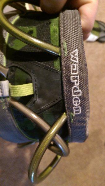 Rock Climbing Photo: harness 3