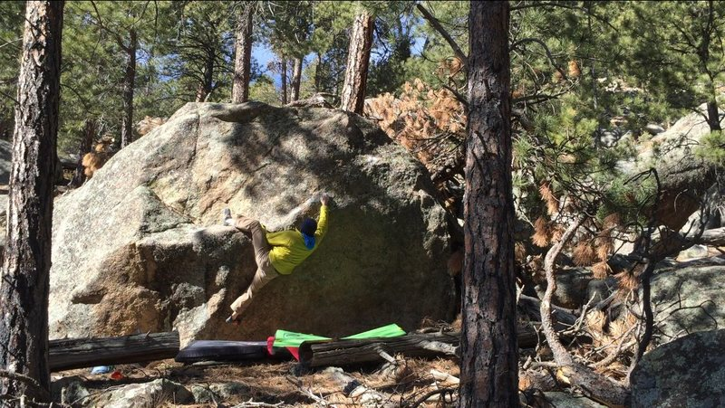 Rock Climbing Photo: v6?