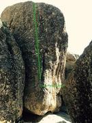 Rock Climbing Photo: Block photo