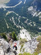 Rock Climbing Photo: High on the South Spur