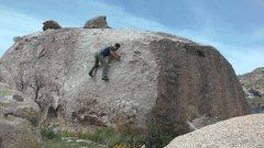 Rock Climbing Photo: Twisted friction.