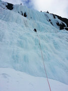 Rock Climbing Photo: Pitch One Weeping Wall, Alberta
