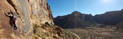 Rock Climbing Photo: Joi Matsukawa following the first ascent of The Wh...