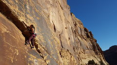 Rock Climbing Photo: Joi Matsukawa on The Whopper 11b
