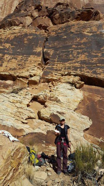 Rock Climbing Photo: This Route Sucks, 5.6