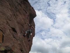 Rock Climbing Photo: top of Gulag A at Smith Rock