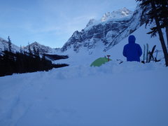 Rock Climbing Photo: View from bivy at north end of Consolation Lakes. ...