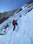 Rock Climbing Photo: Starting P2. Photo: Jon Jugenheimer.