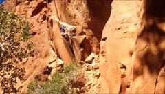 Rock Climbing Photo: If you have a bigger belayer like Blake you can ha...