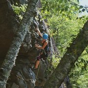 Rock Climbing Photo: Darth Vader Wall, Rumney