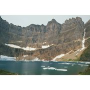 Glacier National Park, Iceberg Lake <br /> <br />I am the tiny person in the bottom left
