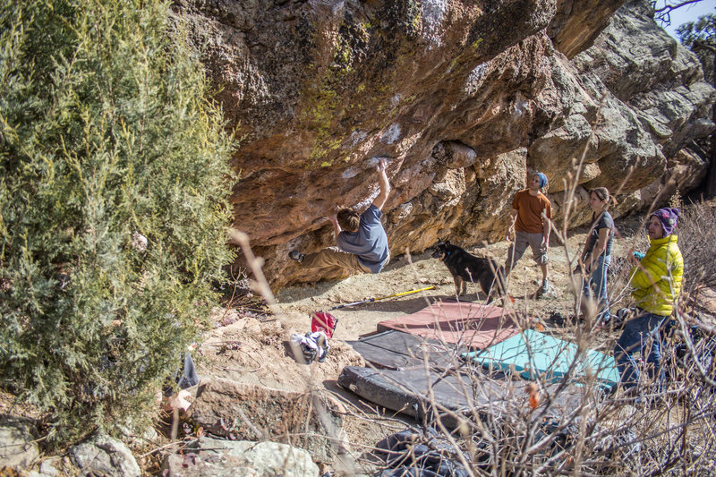Rock Climbing Photo: kk