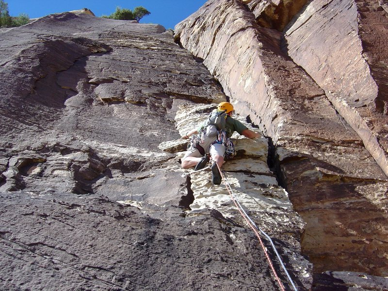 Rock Climbing Photo: The start of Frogland. RRNCA.
