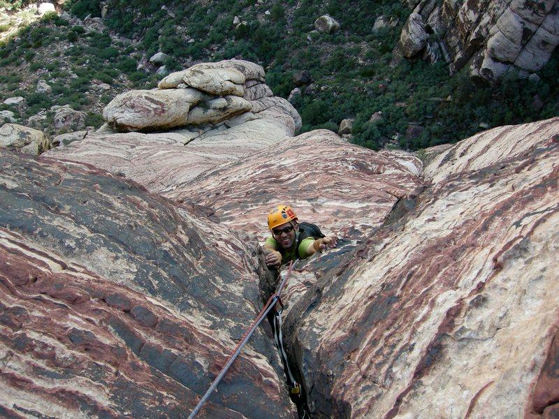 Rock Climbing Photo: Myster Z. RRNCA.