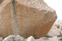 Rock Climbing Photo: One of the hardest boulder problems in all of Bish...