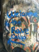 Rock Climbing Photo: The Rave Cave!